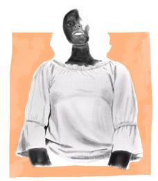 Grade 8 Digital Portrait inspired by Esra Rose