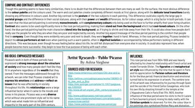 Page 2 Grade 8 Interpreting Art and Contextual Anlaysis