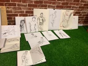 Figure drawing September 2019