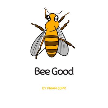 Grade 6 Bee Drawings on Procreate