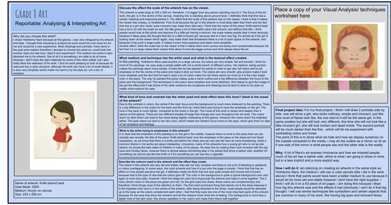 Kiara SPRECKLEY_Kiara's S2 Analysing & I