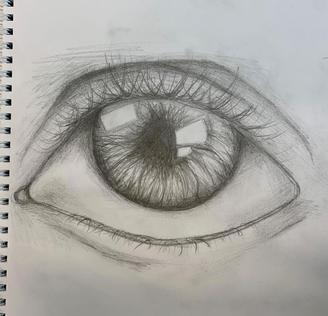 Grade 8 eye sketch