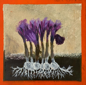 Grade 6 Sheep Jones painting