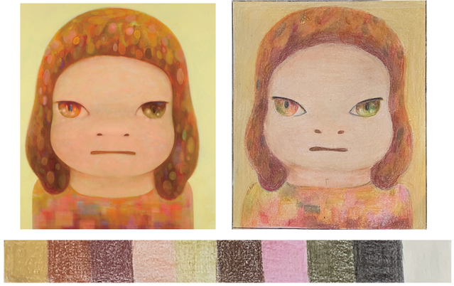 Grade 8 Visual Analysis of Yoshimoto Nara