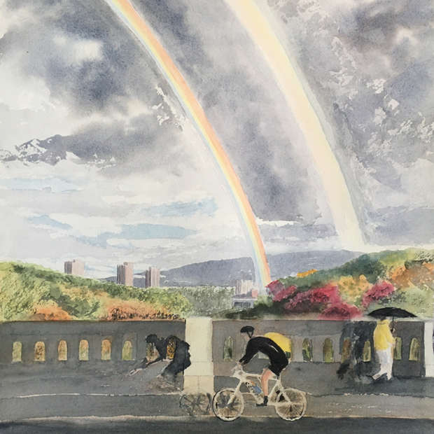 Rainbow, Glen Road Bridge