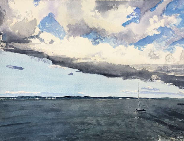 Storm Cloud, De Grassi Point, Lake Simcoe