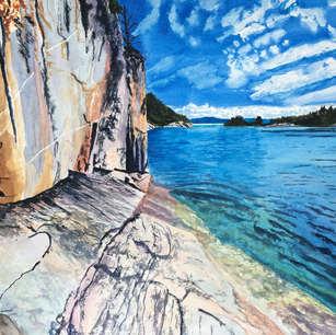 Agawa Rock, Lake Superior Provincial Park