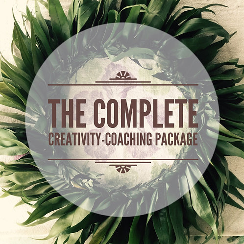 THE COMPLETE Creativity Coaching Package