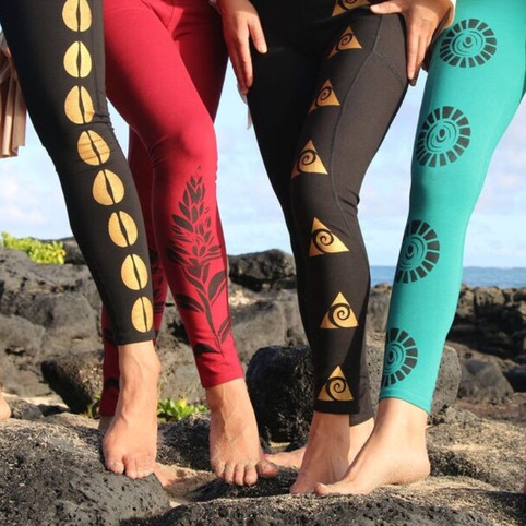 Handpainted Leggings