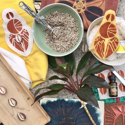 Textile Workshop Materials
