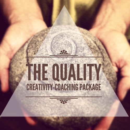 THE QUALITY Creativity Coaching Package
