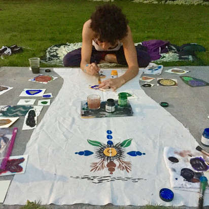 Eco-Art in the park