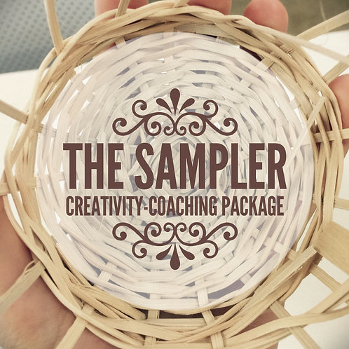 THE SAMPLER Creativity Coaching Package