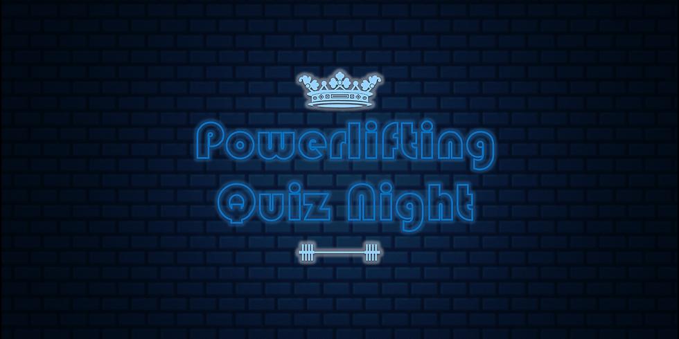 Powerlifting Quiz Night
