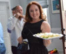 Jessica Silverstein, jello shots, clutch bag, vintage bag, hostess, LBD, little black dress