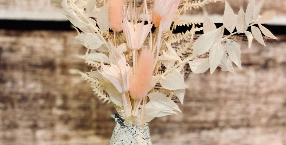 Everlasting Dried Arrangement 23 with Road102designs vase
