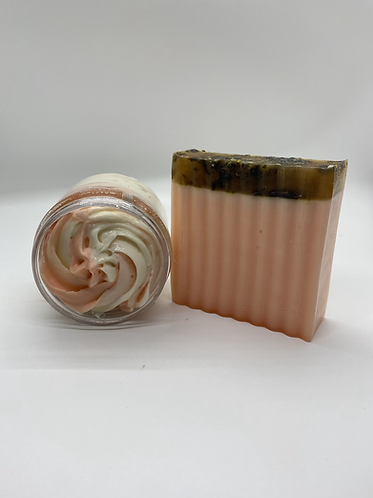 Body butter and Soap Combo: Peaches and Cream