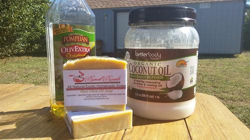 Pure Olive Oil Soap (5-6 oz)-Wholesale 11 bars