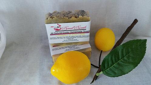Lemongrass and Goat's Milk Soap(5-6 oz) -Wholesale 11 bars