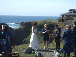 Wedding in private residence