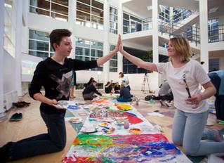 Что делать летом арт подросткам?