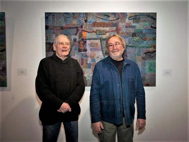 Andreay Grositskiy and Vladimir Opara (9