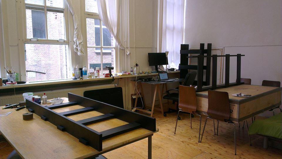 Art studio in Den Haag