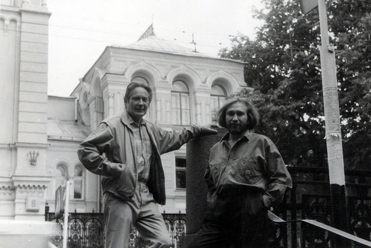 Andreay Grositskiy and Vladimir Opara (1