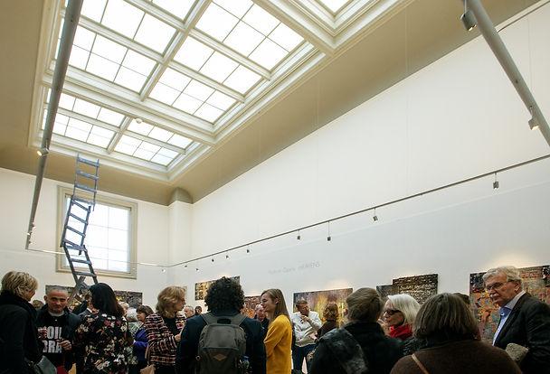 "Opening exhibition ""Vladimir Opara. The Heavens"""