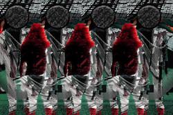 Девушка и космонавт