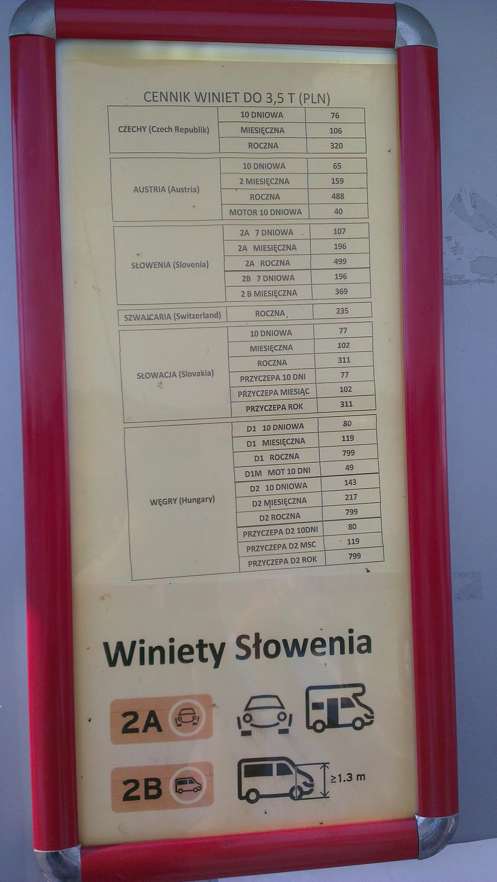Польша, рядом граница Чехии, магазинчик где мы купили виньетки