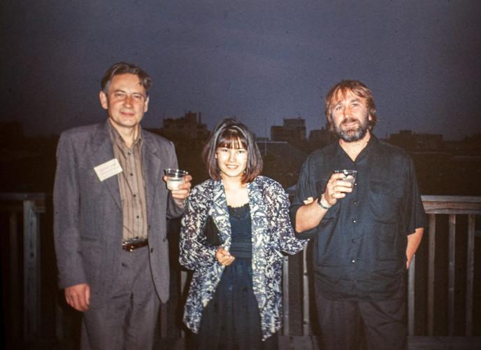 Andreay Grositskiy Maya and Vladimir Opara. Photo by Randolph Michiner. Washington 1991