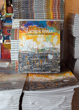 "Album ""Vladimir Opara. The Permanence of the changing"""