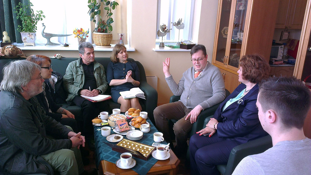 Встреча с участниками проекта в России