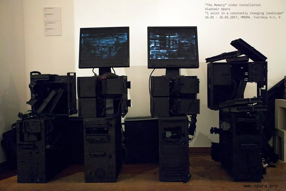 """The Member. Video installation"
