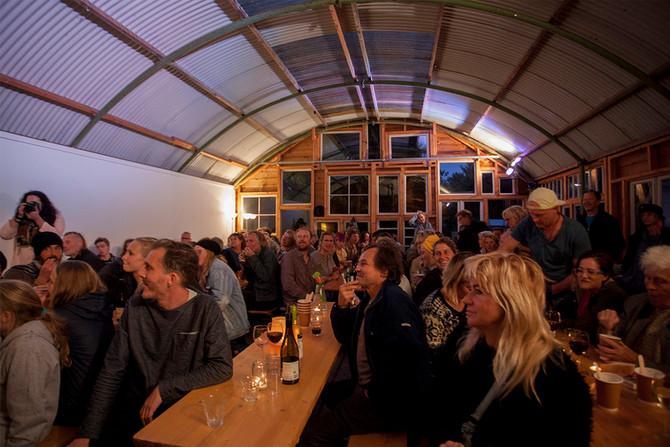 The community Nieuw en Meer. Cool party.