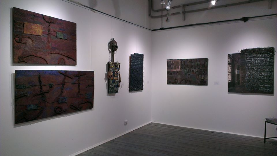 """""""Day eight"""". Solo exhibition."""