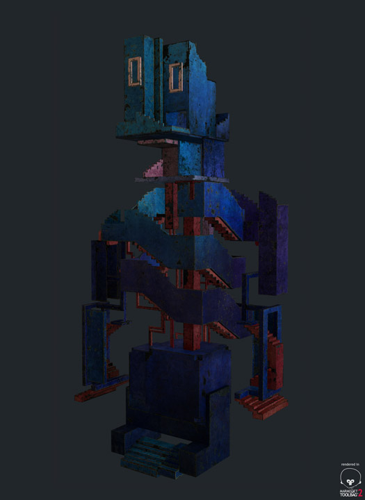 Humanoid building