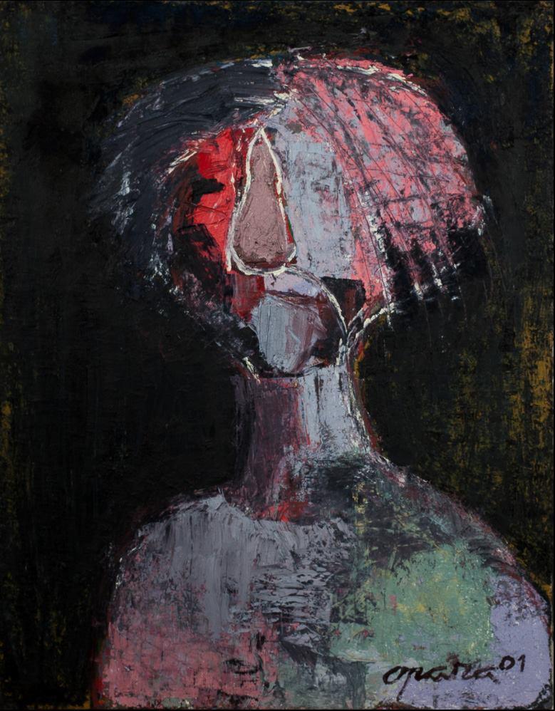 Владимир Опара. Автопортрет. 2001