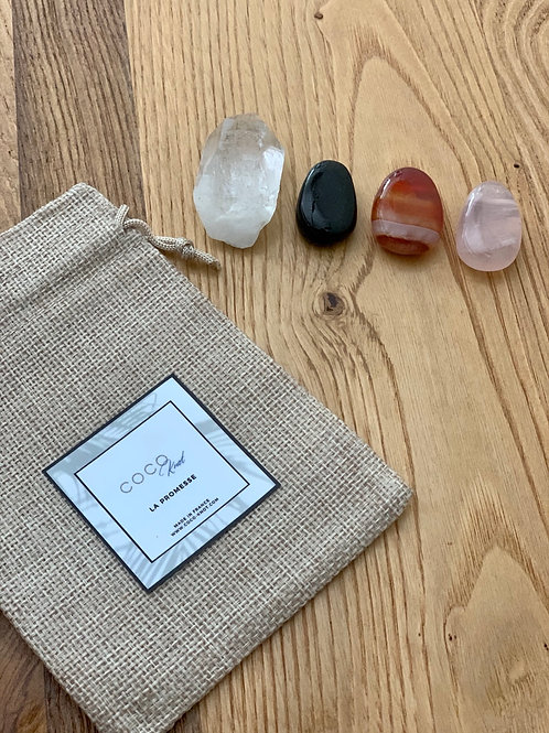 Kit de rituel - Starter Kit Lithotherapie