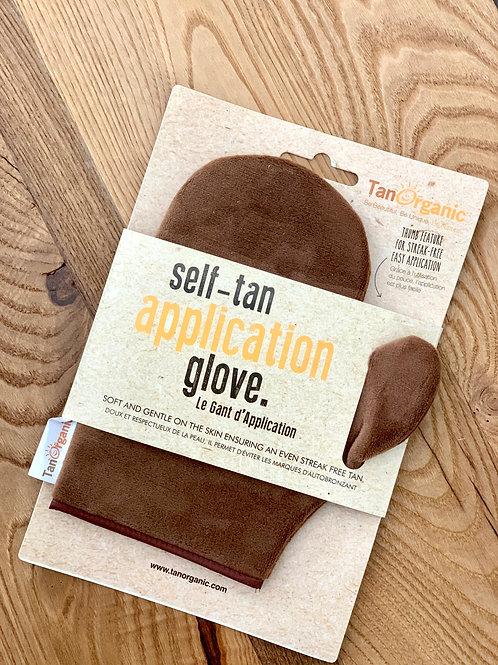 Tan Organic Gant d'Application