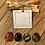 Thumbnail: Kit de YULE - Obsidienne Mouchetée - Jaspe rouge - Bois silicifié - Onyx