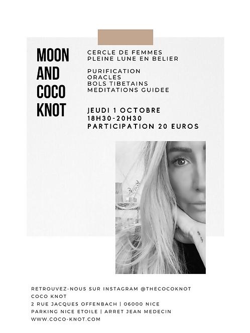 MOON and COCO Knot - Pleine Lune en Bélier