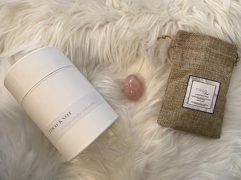 Yoni - Medium - Quartz Rose