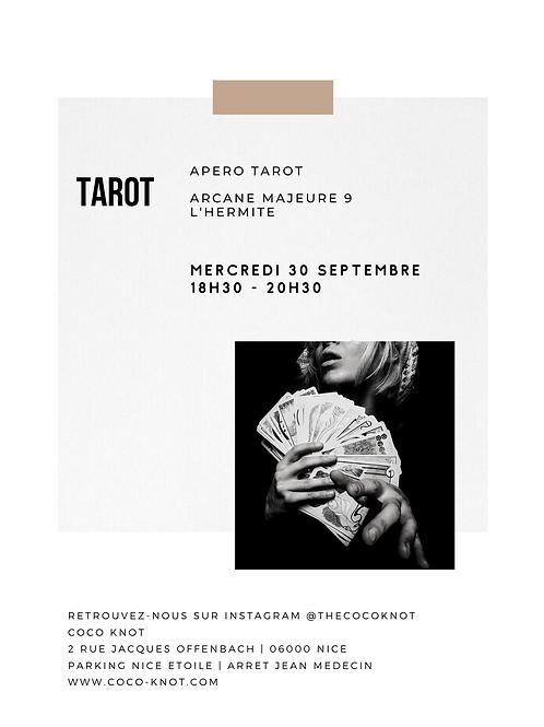 APERO - TAROT - L'Hermite