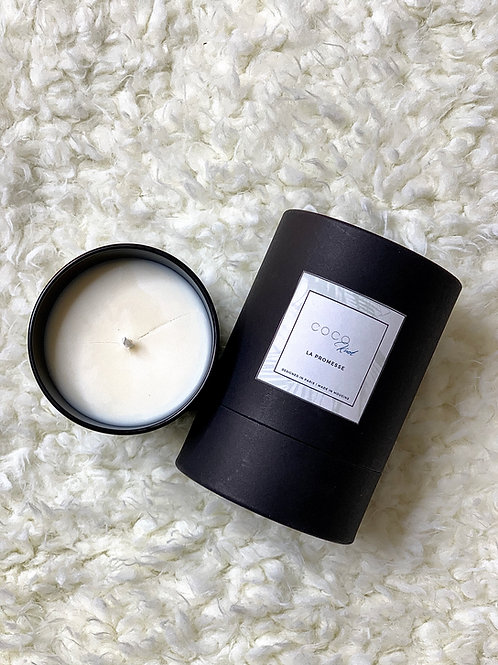 Vegan COCO Knot Candle - Black
