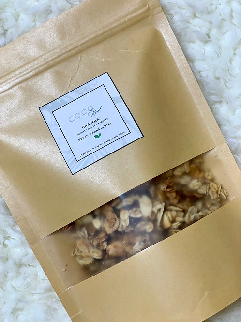 Almond and Fig Granola