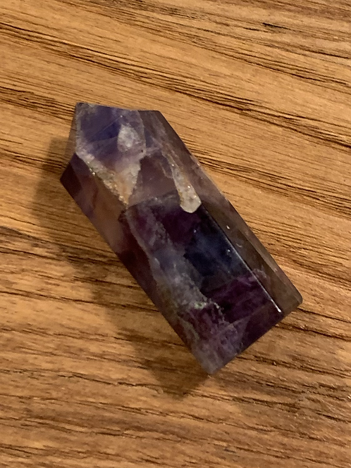 Pointe Fluorite - environ 5 cm