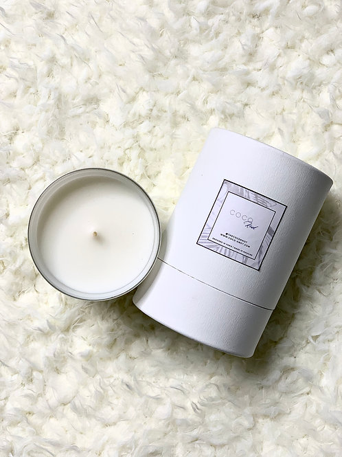 Vegan COCO Knot Candle - White