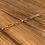 Thumbnail: Bracelet maille allongée - plaqué or (vendu seul)